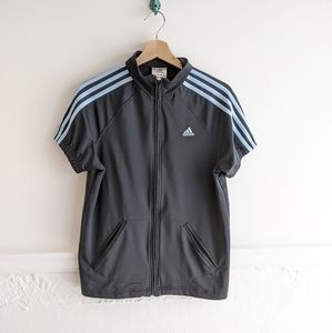Adidas • Short Sleeve Track Jacket